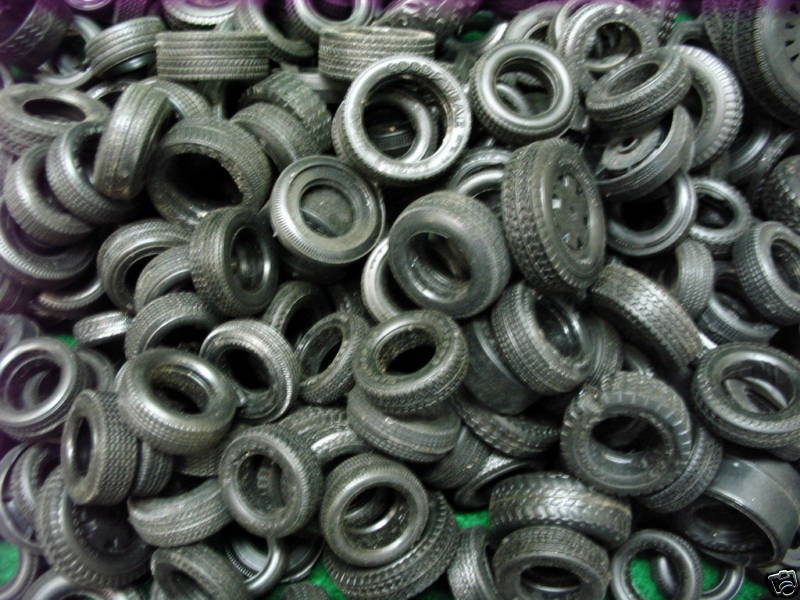 1/24 1/25 Scale Model Car Tires